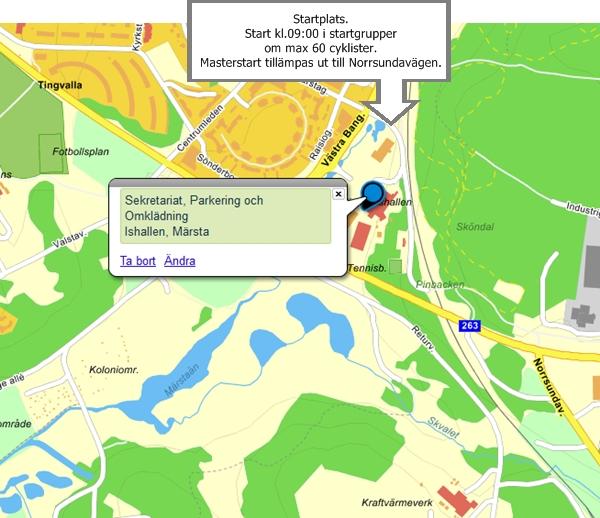 SMACK-rundan-startplats