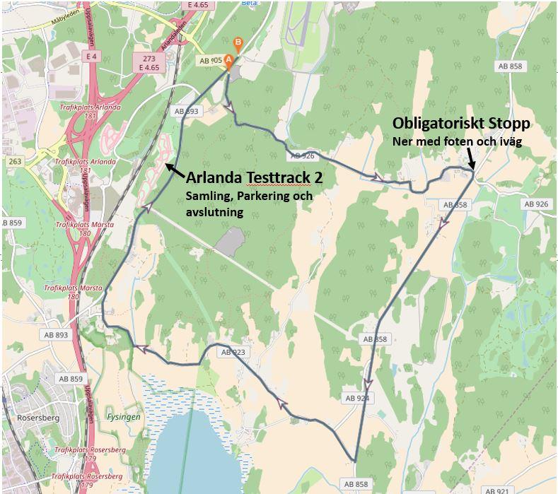 Omgång 19 Skånela Syratomten tempo 17,3 km 2019-09-04