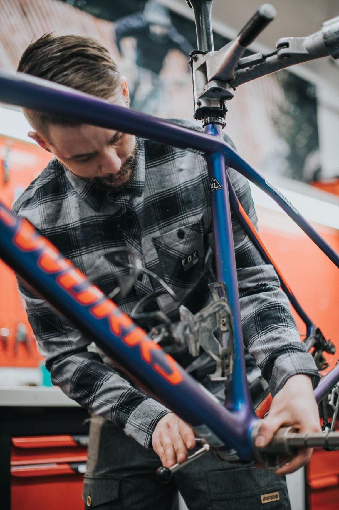 Cykelhuset skaffat nya mekaniker till sin verkstad!